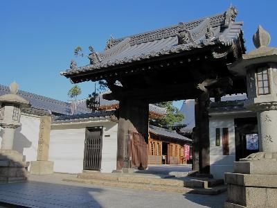 大覚寺玄関