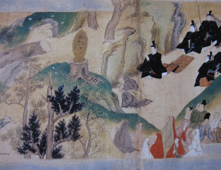 剣尾山の千手観音と聖徳太子と日羅上人