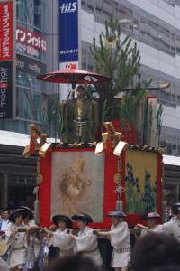 祇園祭「芦刈山」